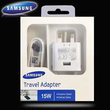 Samsung Galaxy S8+ S9+ S10+ S20 Note 8 2AMP Fast Mains Charger Type-C USB Cable