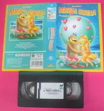 VHS film MAGILLA GORILLA Un amore interessato 1994 animazione RCS (F174) no dvd