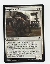 FOIL Inquisitor's Ox Shadows Over Innistrad Magic The Gathering White card MTG
