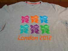 LONDON 2012 SUMMER OLYMPIC GAMES GRAY SS T SHIRT SIZE  XL  L3