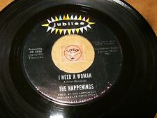 THE HAPPENINGS - I NEED A WOMAN - ANSWER ME MY LOVE  / LISTEN - POP ROCK