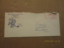 CHL Omaha Knights Vintage Defunct Dated 1974 Team Logo Business Envelope