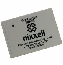 NX-NB5L WT Battery for Canon NB-5L CB-2LX PowerShot S100,S110,SD700 IS,SD790 IS