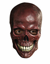 Blood Skull Overhead Latex Mask Horror Halloween Costume Accessory