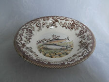 SPODE WOODLAND NORTH AMERICAN FISH PACIFIC SALMON 8 INCH DESSERT / CEREAL BOWL