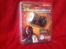 Pirates Of The Caribbean DISNEY PIX Micro Digital Camera New Unopened!