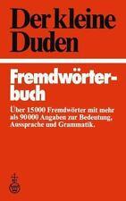 Der Kleine Duden, Fremdwörterbuch (1980, Hardcover)