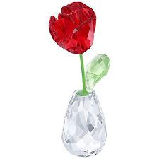 Swarovski Flower Dreams - Red Rose # 5254323 New 2017 in Original Box