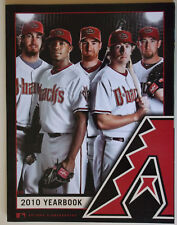ARIZONA DIAMONDBACKS D-BACKS  2010 BASEBALL YEARBOOK - Excellent Cond