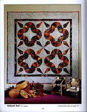 Foundation Piecing Quilt Patterns Kaleidoscope Pickle Dish Starburst Pieced R61