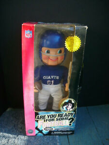 """NY GIANTS"" Are You Ready For Some Football Rockin Randall Limited Edition (NEW)"