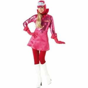 Penelope Pitstop Costume Wacky Races Fancy Dress Adult S M L 10 12 14 16