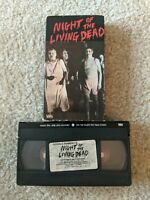 Night of The Living Dead - 1984 Goodtimes Home Video Rare OOP VHS Tape B&W