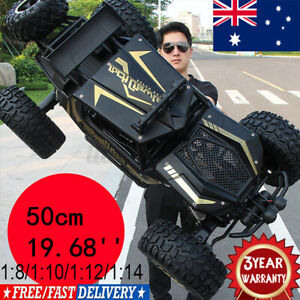 4WD RC Monster Truck Off-Road Vehicle 2.4G Remote Control Crawler Electric Cars☆