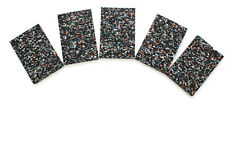 5 Stück Gummi Pad Unterkonstruktion WPC Holz Terrassen Dielen Gummigranulat 8 mm