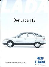 Auto Brochure - Lada - 112 - c2001 - GERMAN prospekt (A1225)