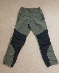 Montane Mens Terra Walking Hiking Pants Trousers - Regular Leg - L Large