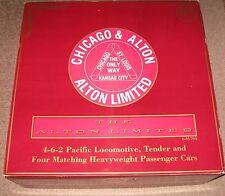 Lionel 6-31704 Chicago and Alton passenger set