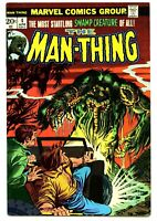KEY ISSUE THE MAN-THING #4 NM 9.4 OR BETTER  BRONZE AGE  1974   SEE SCANS