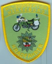 Polizei:Armabz:Polizeidirektion Merseburg-Kradfahrer