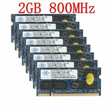 16Go 16G 16GB (8 x 2G) PC2-6400S DDR2 800MHz 200Pin SO-DIMM Mémoire For NANYA FR