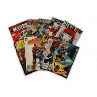 10 Comic Book bundle lot with  10 Random Marvel Superhero Comic Collection with