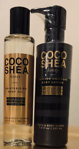 bath and body works Coco Shea Honey Body Oi And Lotion(2)