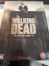 THE WALKING DEAD - THE COMPLETE SEASON 1 - 6 (27 DISC DVD SET) NEW SEALED