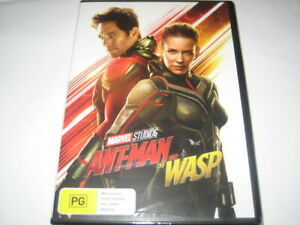 ANT-MAN AND THE WASP DVD R4 NEW/SEALED