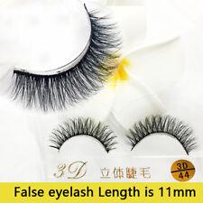 Real 3D Mink Fur Hair Natural Long Thick Makeup Eyelashes False Eye Lashes New