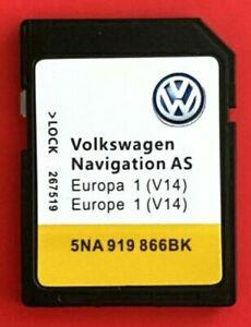Original Neu! 2022 VW AS SKODA MIB2 DISCOVER MEDIA Gen2 Navigationskarte...