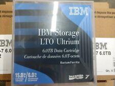 IBM 38L7302 LTO ULTRIUM  7 TAPES LTO-7 IBM Brand Original Packaging (20 Pack)