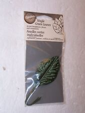 NIP new Wilton Single Green Leaves 12, 5 in long 1998 Wedding or other