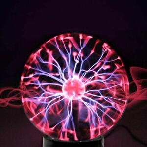 Plasma Ball Magic Sphere Lightning Crystal Globe Touch Nebula Lights 4 size