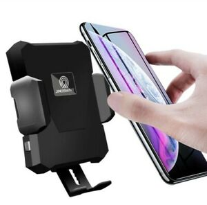 Fast Wireless Car Vent Charger/Holder/Mount With Automatic Motion Clamping Arms