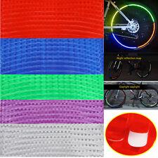 8MM 8 To 80 Pcs Bicycle bike Motorbike Reflective Rim Tape Wheel Sticker Trim