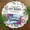 * Much Loved GRANDMA  Gift MAGNET by Decorative Greetings Made in USA New in Pkg