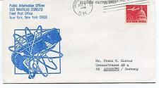 1966 USS Nautilus SSN571 Public Inform. Officer New York Polar Antarctic Cover