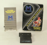 Boxed Atari 2600 game Super Challenge Football By M Network Tested & Working