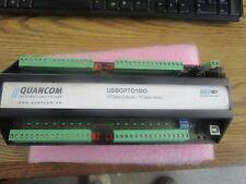 Quancom Model:  ISBOPTO16IO.  16 Opto-Outputs + 16 Opto -Inputs <