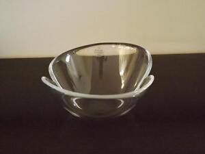 MWT Holmegaard Glass Bowl Torben Jorgensen Mint Condition