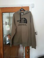 Men's North Face Green Pullover Hoodie Sweatshirt Size extra large