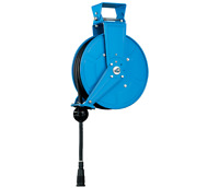 YuanTsu XB330HRT Steel Retractable Air Hose Reel with 3/8 in x 50 ft Max 200PSI