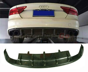 For Audi A7 S7 RS7 2012-2014 DTM Style Real Carbon Fiber Rear Diffuser