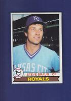 Steve Braun 1979 TOPPS Baseball #502 (NM) Kansas City Royals