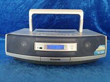 Panasonic RX-ED50 Radio CD Kassettenrecorder Ghettoblaster Blaster blau #3922