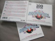 100 Hits Rock 'N' Roll 5CD Caja Presley Little Richard Buddy Holly Fury Fats