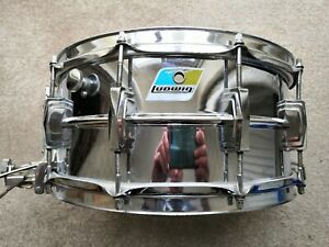 """LUDWIG 402 SUPERSENSITIVE 14""""X6.5"""" SNARE DRUM"""