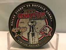 Dallas Stars Buffalo Sabres Hockey Puck 99 Stanley Cup Limited Edition 1724/2500