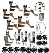 Juki DU1181N,Walking Foot Kit,Plate,Feed ,Bobbins,Case,9assorted sets of feet